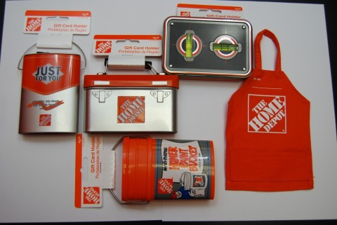 Home Depot Gift Card Holders